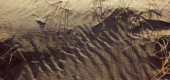Sand og strand