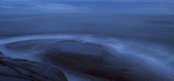 Skumring ved havet
