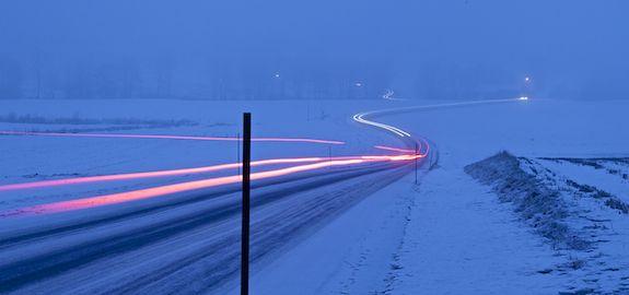 Vinterveiene