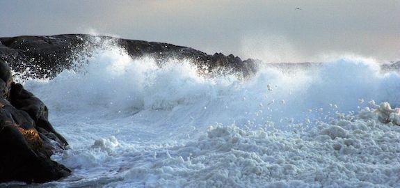 Bølger på Saltstein